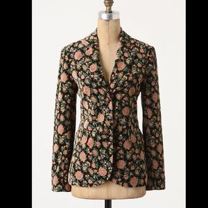 Anthropologie Madchen  Tea Rose Blazer sz S